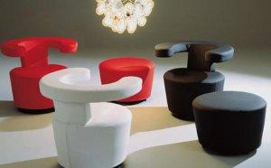 Металлическая мебель из гнутых трубок